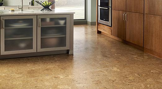 Cork Floating Floor U2022 Adobe: Natural